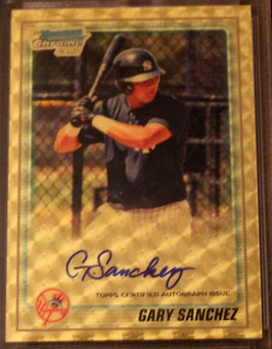 2010 Topps and Bowman Superfractor Super Show 70