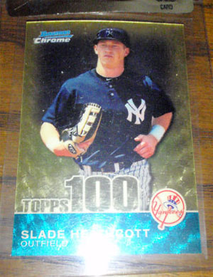 2010 Topps and Bowman Superfractor Super Show 78