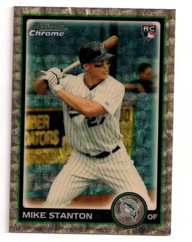 2010 Topps and Bowman Superfractor Super Show 80
