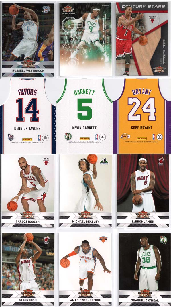 2010-11 Panini Threads Basketball Review 10