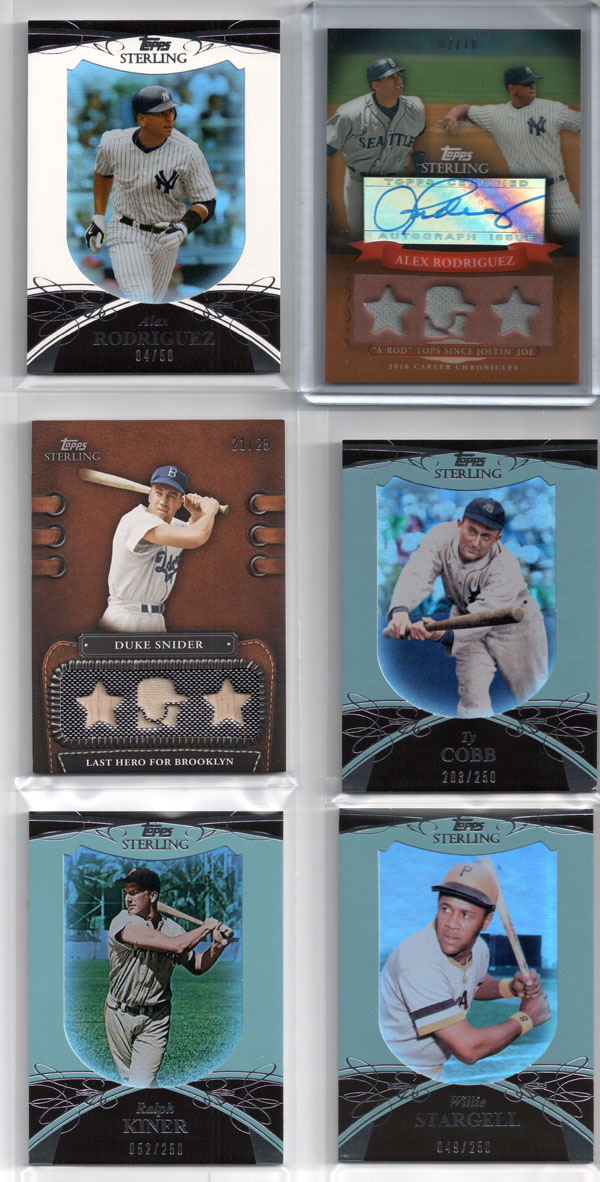 2010 Topps Sterling Review 1