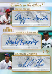 2011 Topps Tribute Baseball 1