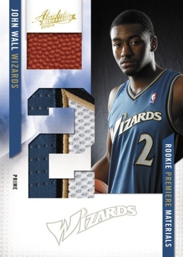 2010-11 Absolute Memorabilia Basketball 1