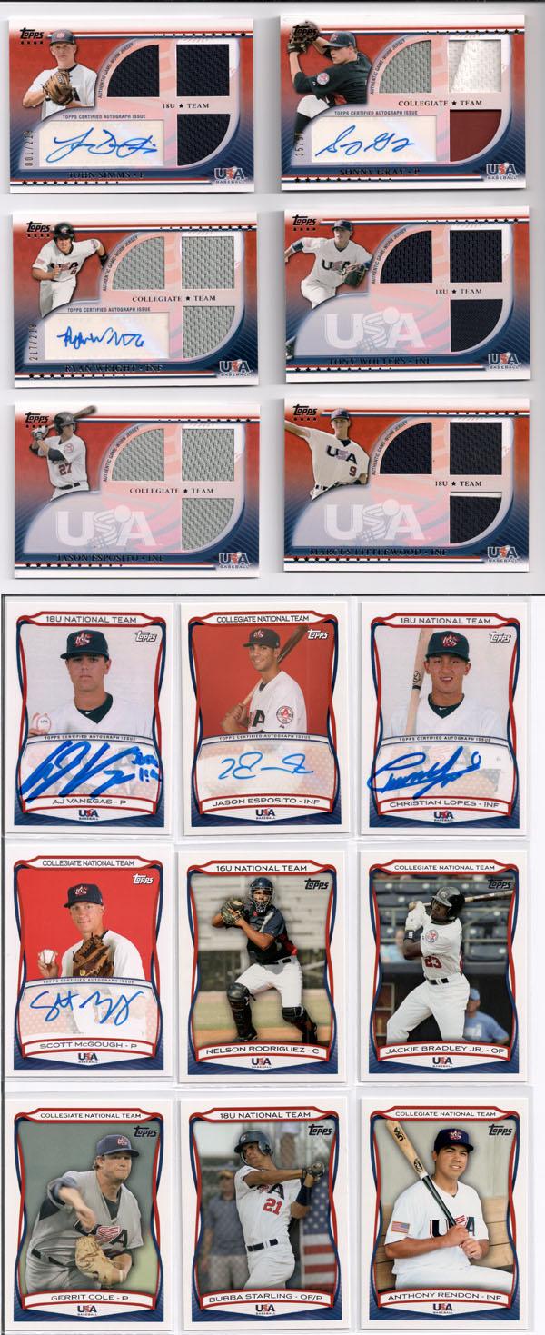 2010 Topps USA Baseball Review 1