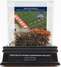 Auburn Selling Freeze-Dried Turf From 2011 BCS National Championship Game  1
