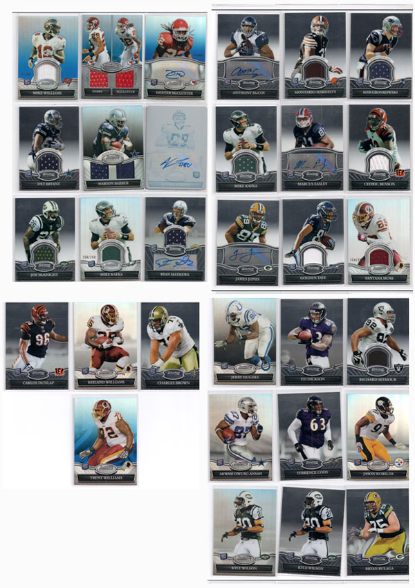2010 Bowman Sterling Football Review 2
