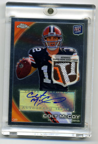 Big Time Hits Virtual Card Show: 2010 Football Cards 50