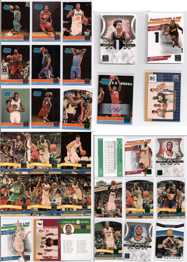 2010-11 Donruss Basketball Review 1