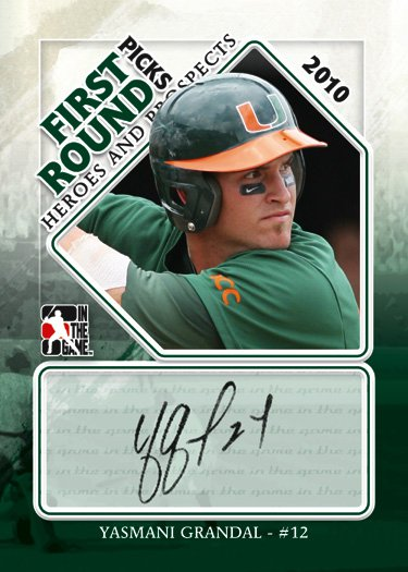 2011 In The Game Heroes and Prospects Baseball Series 1 8