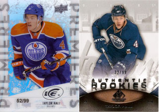 Top 25 eBay Hockey Card Sales: Taylor Hall 1