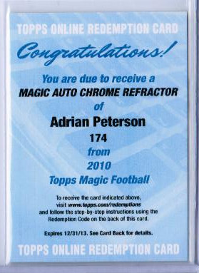 Big Time Hits Virtual Card Show: 2010 Football Cards 8
