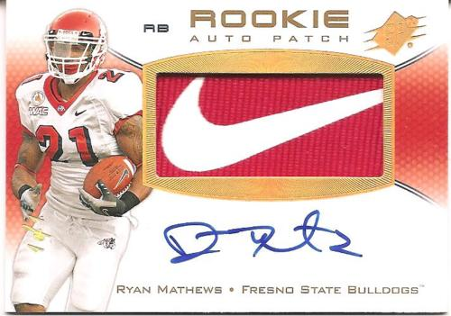 Big Time Hits Virtual Card Show: 2010 Football Cards 75