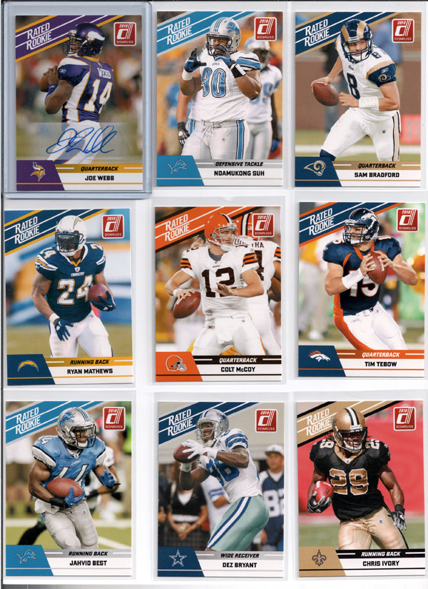 2010 Donruss Rated Rookie Box Set Review 1