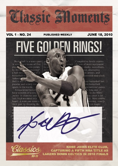2010-11 Panini Classics Basketball  2