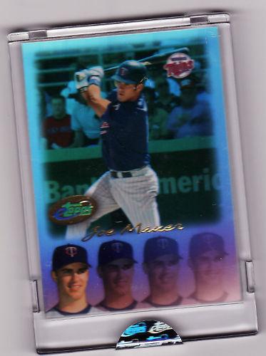 Virtual Card Show: Joe Mauer Baseball Cards 21