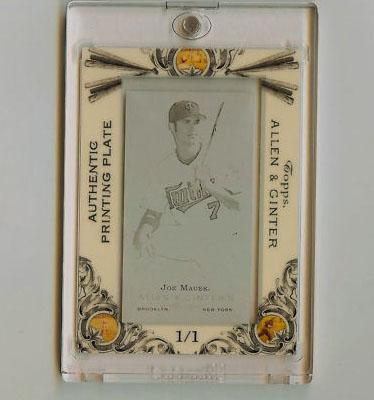 Virtual Card Show: Joe Mauer Baseball Cards 9