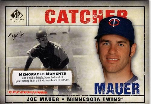 Virtual Card Show: Joe Mauer Baseball Cards 28