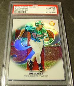 Virtual Card Show: Joe Mauer Baseball Cards 50