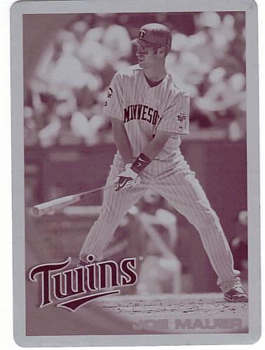 Virtual Card Show: Joe Mauer Baseball Cards 29