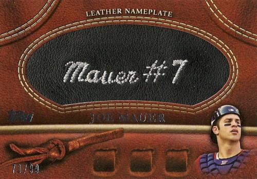 Virtual Card Show: Joe Mauer Baseball Cards 24
