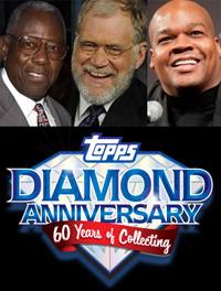 Hank Aaron, Frank Thomas to Promote Topps Diamond Anniversary 1