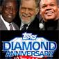 Hank Aaron, Frank Thomas to Promote Topps Diamond Anniversary