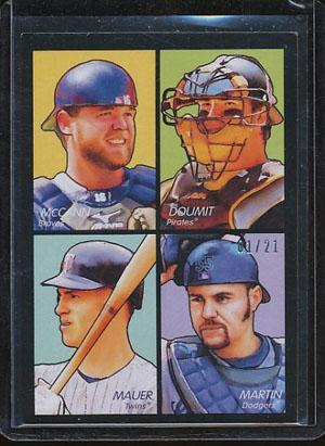 Virtual Card Show: Joe Mauer Baseball Cards 25