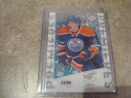 Virtual Card Show: Taylor Hall Hockey Cards 6