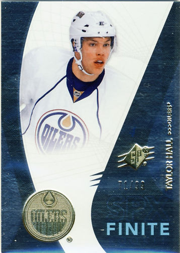 Virtual Card Show: Taylor Hall Hockey Cards 13