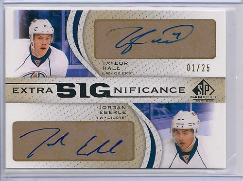 Virtual Card Show: Taylor Hall Hockey Cards 2