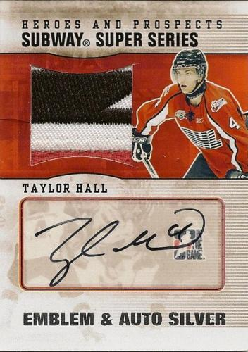 Virtual Card Show: Taylor Hall Hockey Cards 4
