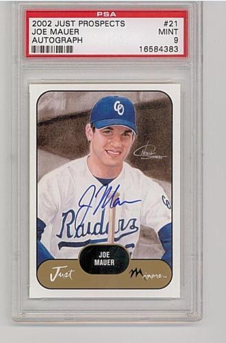 Virtual Card Show: Joe Mauer Baseball Cards 40