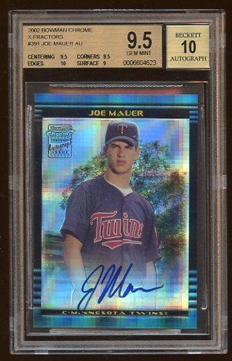 Virtual Card Show: Joe Mauer Baseball Cards 51