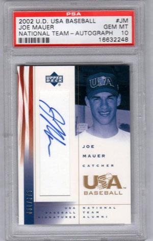 Virtual Card Show: Joe Mauer Baseball Cards 52