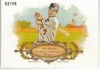 Virtual Card Show: Joe Mauer Baseball Cards 39