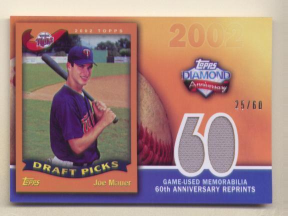 Virtual Card Show: Joe Mauer Baseball Cards 10