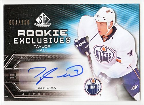 Virtual Card Show: Taylor Hall Hockey Cards 16