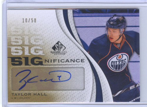 Virtual Card Show: Taylor Hall Hockey Cards 18