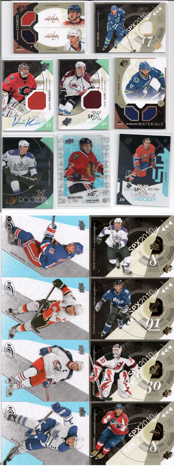 2010-11 SPx Hockey Review 1