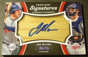 Virtual Card Show: Joe Mauer Baseball Cards 41