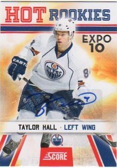 Virtual Card Show: Taylor Hall Hockey Cards 21