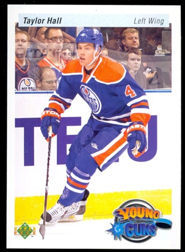 Virtual Card Show: Taylor Hall Hockey Cards 24