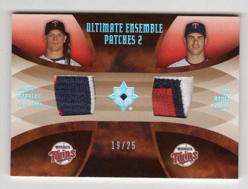 Virtual Card Show: Joe Mauer Baseball Cards 14
