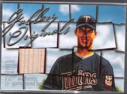 Virtual Card Show: Joe Mauer Baseball Cards 1
