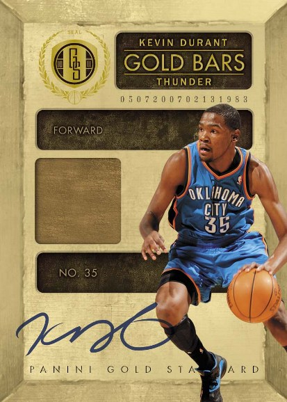 2010-11 Panini Gold Standard Basketball 13