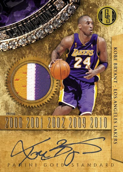 2010-11 Panini Gold Standard Basketball 11