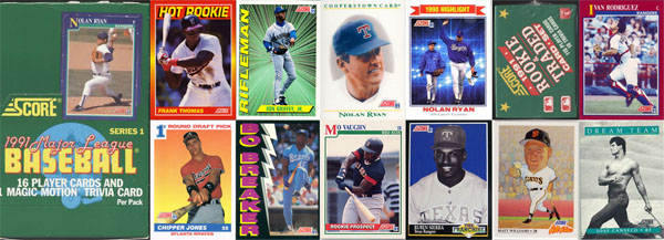 The Year In Baseball Cards 1991