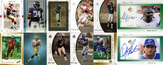 1997-2010: The Evolution of SP Authentic Football Card Design 3
