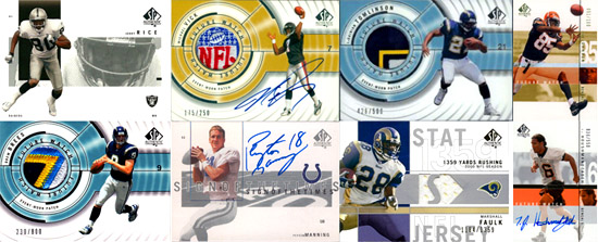1997-2010: The Evolution of SP Authentic Football Card Design 5