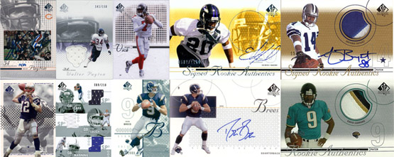 1997-2010: The Evolution of SP Authentic Football Card Design 6